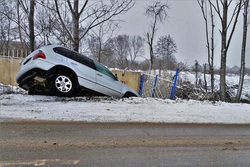 Autounfall, Verkehrsunfall