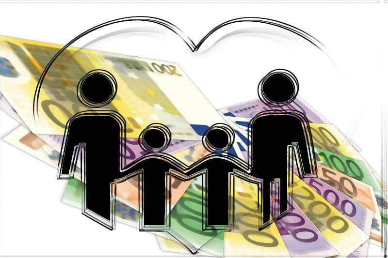Risikolebensversicherung, Absicherung Familie und Angehörige